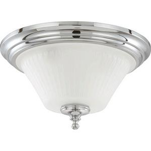 Teller - Three Light Dome Flush Mount