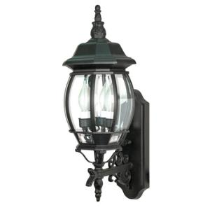 Central Park - Three Light Outdoor Wall Lantern