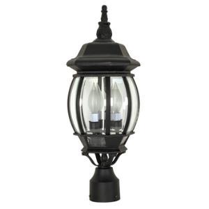 Central Park - Three Light Outdoor Post Lantern