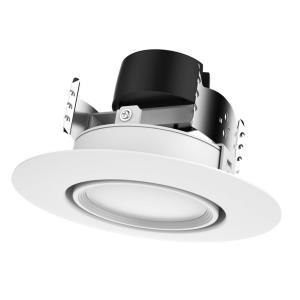 """6"""" 9W 2700K 90 Degree LED Gimbaled Directional Downlight Retrofit"""