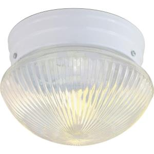 One Light Small Flush Mount