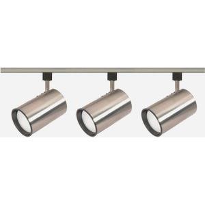 Three Light Straight Cylinder Track Kit