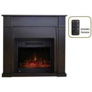 "Wilson - 40"" Electric Fireplace with 23"" Electric Fireplace Insert"