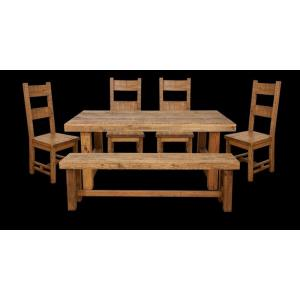 "Country Cottage - 71"" Dining Set"