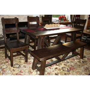 Rustic - 70.1 Dining Set