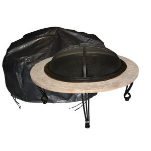 "24"" Outdoor Round Firepit Cover"