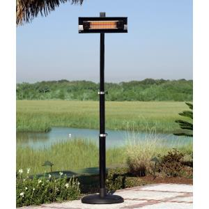 "93.7"" Infrared Patio Heater with Telescoping Offset Pole"