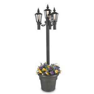 Islander - Four Light Outdoor Citronella Flame Patio Lantern