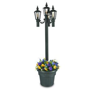 Islander - Four Light Outdoor Citronella Flame Planter Lantern