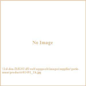 Patio Sense - Antique Bronze Cast Aluminum Patio Bench