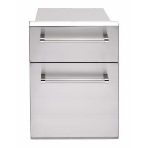 Twin Utility Drawer for Masonry