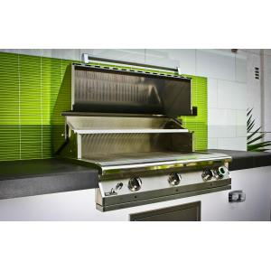 """Legacy - 39"""" Pacifica Commercial Grill Head with 1 Hour Gas Timer"""