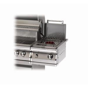 """Legacy - 27"""" Stainless Steel Side Burner Kit For Cart"""