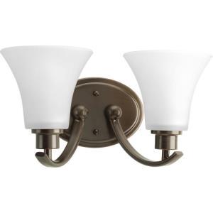 Joy - 14 Inch Width - 2 Light - Line Voltage - Damp Rated