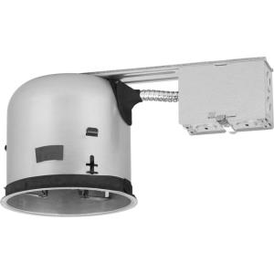 Shallow Recessed Housing - 1 Light - 6 Inches wide by 5.38 Inches high