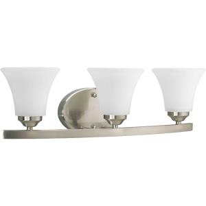 Adorn - 3 Light - Fluted Shade in Transitional and Traditional style - 21.5 Inches wide by 6.63 Inches high