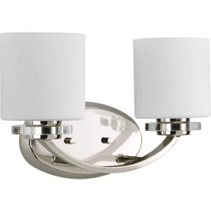 Nisse - 2 Light in Luxe and New Traditional and Transitional style - 14.63 Inches wide by 9 Inches high