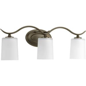Inspire - 3 Light in Transitional and Traditional style - 22.38 Inches wide by 8.19 Inches high