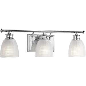 Lucky - 3 Light in Coastal style - 23.75 Inches wide by 7.63 Inches high