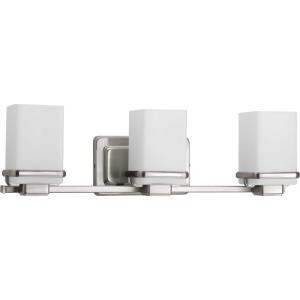 Metric - 3 Light in Coastal style - 22.13 Inches wide by 6.5 Inches high