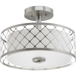Mingle - 14 Inch 17W 1 LED Semi-Flush Mount