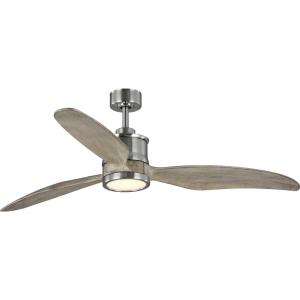 Farris - Wide - Ceiling Fan - 1 Light - Handheld Remote in Modern style - 60 Inches wide by 15.5 Inches high
