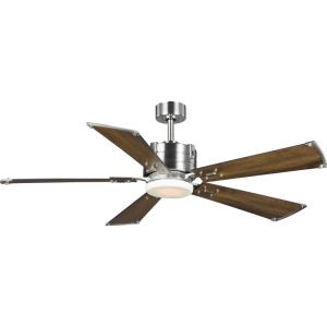 Glenfalls - 56 Inch 5 Blade Ceiling Fan with Light Kit