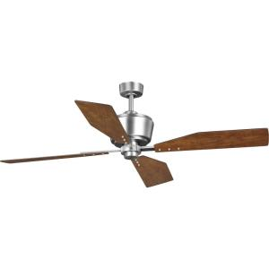 Chapin - Wide - Ceiling Fan - Handheld Remote in Transitional style - 56 Inches wide by 15.88 Inches high