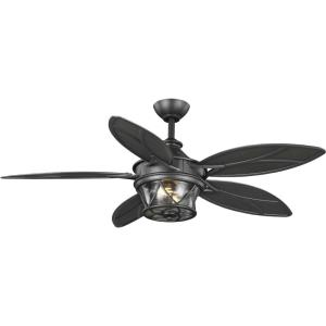Alfresco - 54 Inch 5 Blade Ceiling Fan with Light Kit
