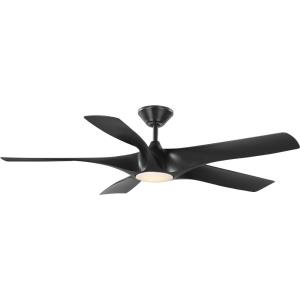 Vernal - 60 Inch 5 Blade Ceiling Fan with Light Kit