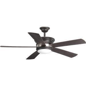 """Harranvale - 54"""" Ceiling Fan with Light Kit"""