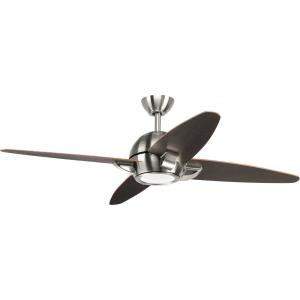 Soar - Wide - Ceiling Fan - 1 Light - Handheld Remote in Modern style - 54 Inches wide by 14.5 Inches high