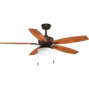 Billows - Wide - Ceiling Fan - 2 Light in New Traditional style - 52 Inches wide by 17.5 Inches high