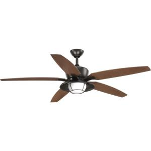 Montague - 60 Inch Wide - Ceiling Fan - 1 Light - Handheld Remote - Wet Rated