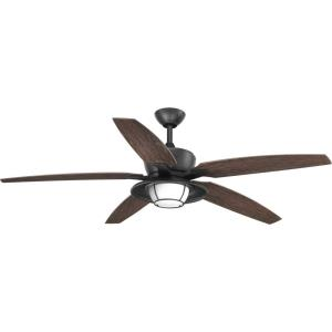 Montague - 60 Inch Outdoor Ceiling Fan with Light Kit