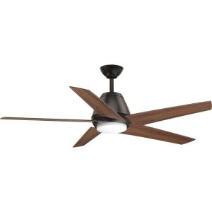 Gust - 54 Inch Ceiling Fan with Light Kit