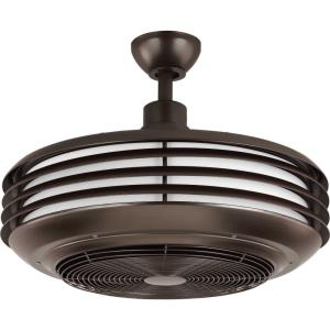 Sanford - Wide - Ceiling Fan - 1 Light - Handheld Remote - Damp Rated in Transitional style - 22.88 Inches wide by 17.75 Inches high