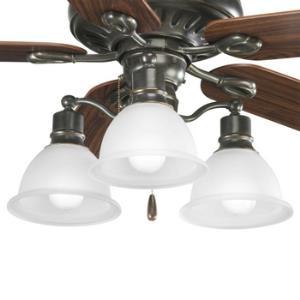 Madison - 3 Light Ceiling Fan Light Kit