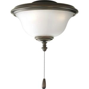 AirPro Light Kit - Wide - 2 Light - Damp Rated in New Traditional and Rustic style - 11 Inches wide by 8.25 Inches high
