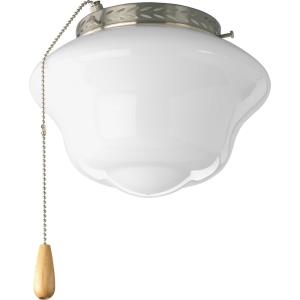 Schoolhouse - One Light Ceiling Fan Kit