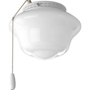 Schoolhouse - One Light Ceiling Fan Kit