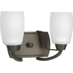 Wisten - 2 Light - Trumpet Shade in Modern style - 12.5 Inches wide by 8.25 Inches high