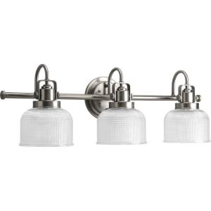 Archie - 3 Light in Coastal style - 26.25 Inches wide by 8.75 Inches high