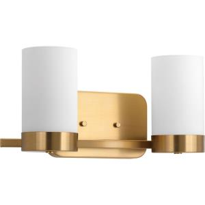 Elevate - 2 Light in Mid-Century Modern style - 15.38 Inches wide by 7.5 Inches high