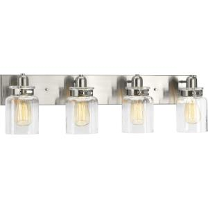 Calhoun - 30.25 Inch Width - 4 Light - Line Voltage - Damp Rated