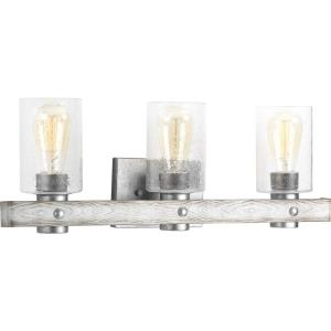 Gulliver - 3 Light in Coastal style - 24 Inches wide by 8.5 Inches high