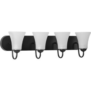 Classic - 4 Light - Bell Shade in Transitional and Traditional style - 30 Inches wide by 7.88 Inches high