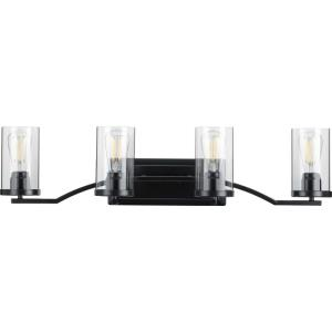 Lassiter - 4 Light - Cylinder Shade in Modern style - 34 Inches wide by 8 Inches high