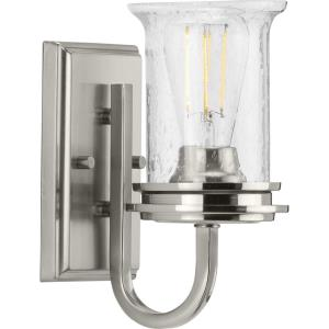 Winslett - 1 Light - Cylinder Shade in Coastal style - 4.75 Inches wide by 9.5 Inches high
