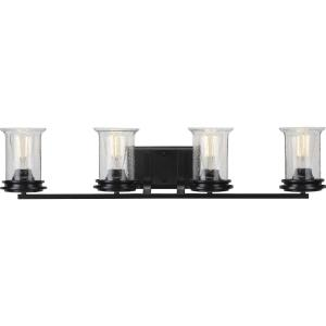 Winslett - 4 Light - Cylinder Shade in Coastal style - 33.25 Inches wide by 7.25 Inches high